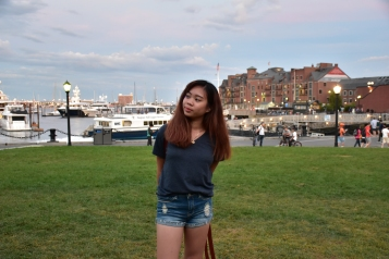 The view behind was my 2nd favorite place to be of all Boston :)