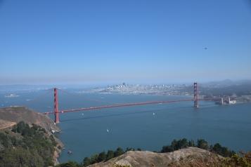 สวัสดีสะพานประตูทองที่สีแดง... (Golden Gate Bridge)